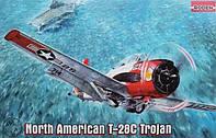 1:48 Сборная модель самолета T-28C 'Trojan', Roden 451