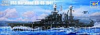 1:700 Сборная модель линкора USS 'Maryland' (1941 г.), Trumpeter 05769