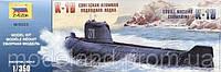 1:350 Сборная модель подводной лодки К-19, Звезда 9025