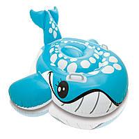 Детский надувной плотик Кит Intex 160х152 см (57527)