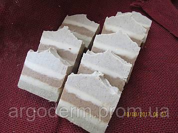 """Натуральное мыло """"Здоровая кожа - чистая кожа"""" 100 гр на 4 глинах"""