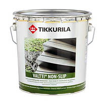 Масло для защиты дерева террасное водоразбавляемое Валти Нон Слипп 2,7 л