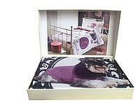 Комплект постельного белья Tivolyo Home  полуторный Glamour