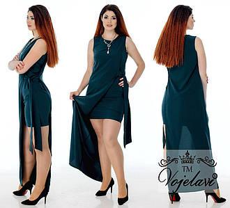 Женское платье №76-487\1 БАТАЛ