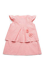 Платье для девочки (хлопок деним, принт звезды), фото 3