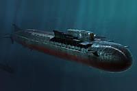 1:350 Сборная модель подводной лодки K-141 'Курск' (Oscar II), Hobby Boss 83521