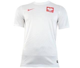 Футболка фаната польской сборной Nike  m h/a supporters tee 724632 100