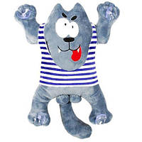 Мягкая игрушка-сувенир №1 «Волк» 00284-131 Копиця
