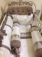 """Детское постельное """"Elite baby Light brown """""""