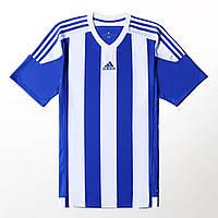 ФУТБОЛКА adidas ПОЛОСАТЫЙ 15 белый/синий /S16138