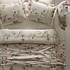 Комплект постельного белья Tivolyo Home  полуторный Peony