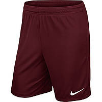 ШОРТЫ NIKE PARK II KNIT SHORT NB бордовые /725887 677