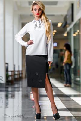 Блуза 2296 белый