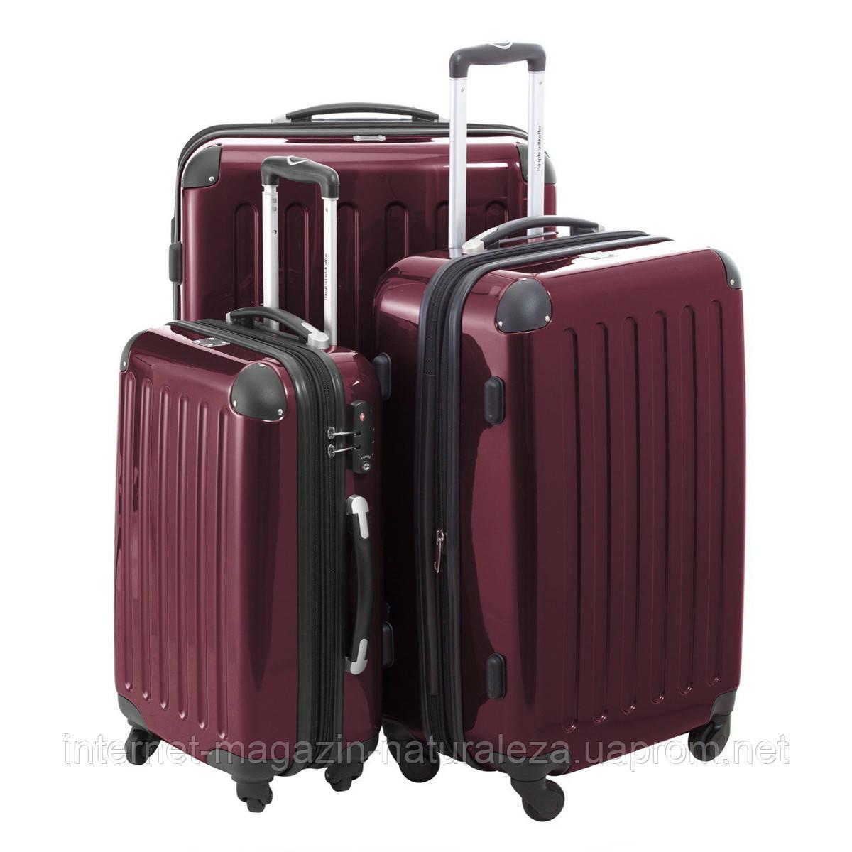 Комплект чемоданов Hauptstadtkoffer Alex вишневый