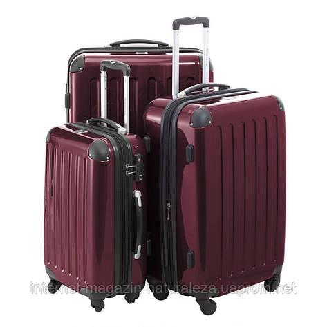 Комплект чемоданов Hauptstadtkoffer Alex вишневый, фото 2