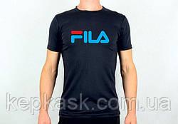 Футболка FILA black-blue