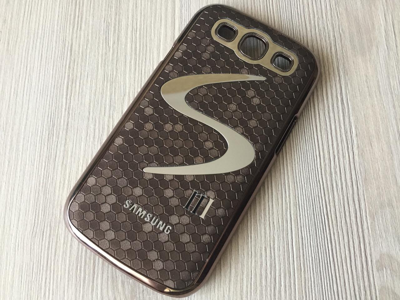 Фирменный коричневый чехол Meidu к Samsung GalaxyS3 (i9300)