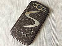 Фирменный коричневый чехол Meidu к Samsung GalaxyS3 (i9300), фото 1