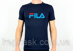 Футболка FILA blue