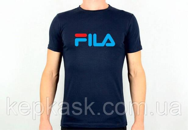 Футболка FILA blue, фото 2
