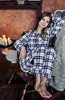 Женская пижама из фланели 2XL-3XL. Польша. KEY LNS 417