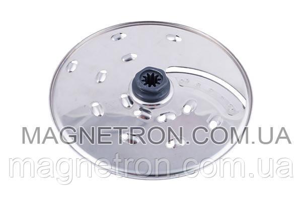 Двухсторонний диск для толстой нарезки / крупной терки для кухонного комбайна Kenwood KW715022, фото 2
