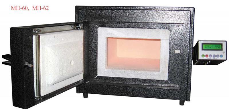 Муфельная печь МП- 60 (в комплекте с программным регулятором температуры ПР-04) NaviStom