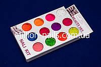 Набор насыщенных цветных пигментов из 12 ярких  цветов, фото 1