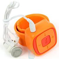 MP3 плеер с браслетом Оранжевый