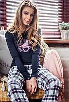 Женская пижама. Брюки из фланели. Польша. KEY LNS 497