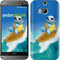 """Чехол на HTC One M8 dual sim Squirtle pokemon go """"3767c-55"""""""