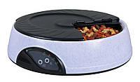 Кормушка Trixie TX4 Automatic Food Dispenser для собак автоматическая, круглая, 32х9 см