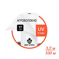 Агроволокно белое PLANT PROТEX 17 г/м2 размер 3,2х100м