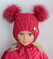 Шапочка детская Злата мини (зимняя), фото 1