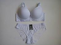 Белый комплект женского белья Fnniss Чашка C 3583, фото 1