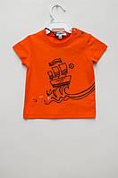 Оранжевая Футболка для мальчика от GAULTIER bebe