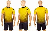 Футбольная форма Brill (PL, р-р S-2XL, желтый, шорты черные), фото 1
