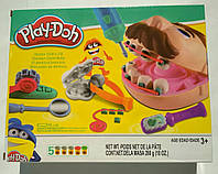 Набор для лепки Стоматолог (Мистер зубастик) Play- Doh аналог