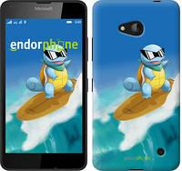 """Чехол на Microsoft Lumia 640 Squirtle pokemon go """"3767c-273"""""""