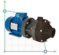Центробежный химический насос з магнитной муфтой  DM 10 PVDF з електродвигуном 0,55 кВт