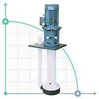 Вертикальный центробежный химический насос  IM 155 PVDF