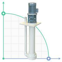 Вертикальный центробежный химический насос  IM 140 PP