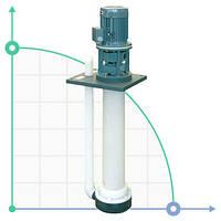 Вертикальный центробежный химический насос  IM 130 PVDF