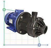 Центробежный химический насос з магнитной муфтой  DM 15 PVDF з електродвигуном 1,5 кВт