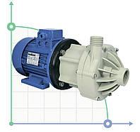 Центробежный химический насос з магнитной муфтой  DM 15 PP з електродвигуном 1,5 кВт