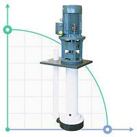 Вертикальный центробежный химический насос  IM 180 PVDF