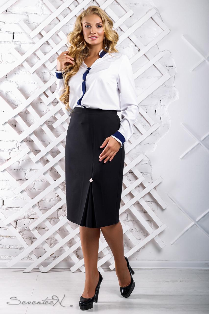 Женская юбка размер плюс 2311 (50-56)