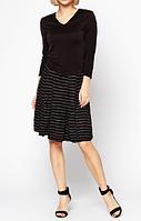 Распродажа! Женское платье черного цвета от Philippe Matignon, р. S/М