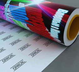Печать на перфорированной пленке One Way Vision (360 dpi)