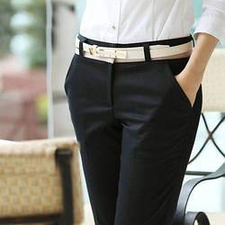 Женские брюки чёрные